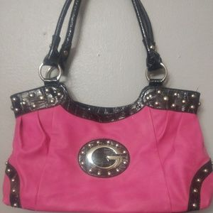 Adorable Pink & Black Purse
